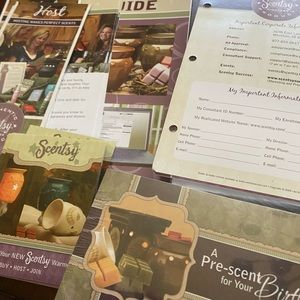 🆕 Scentsy advertising materials